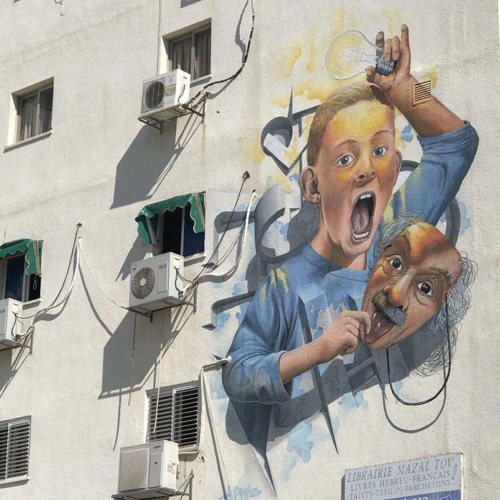 GRAFFITI IN NETANYA