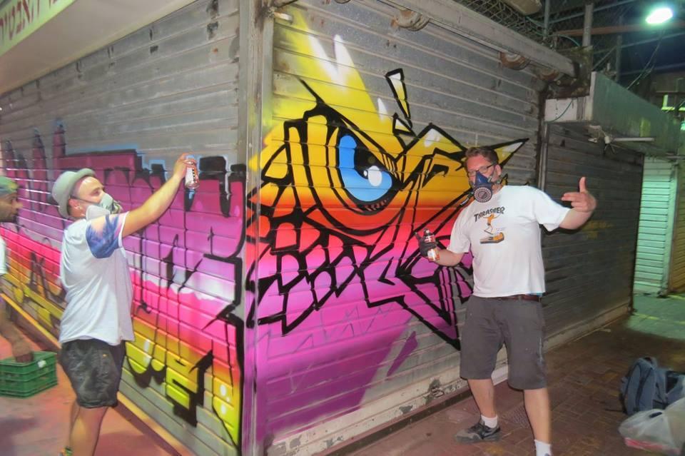 graffiti artist for one day GoNetanya