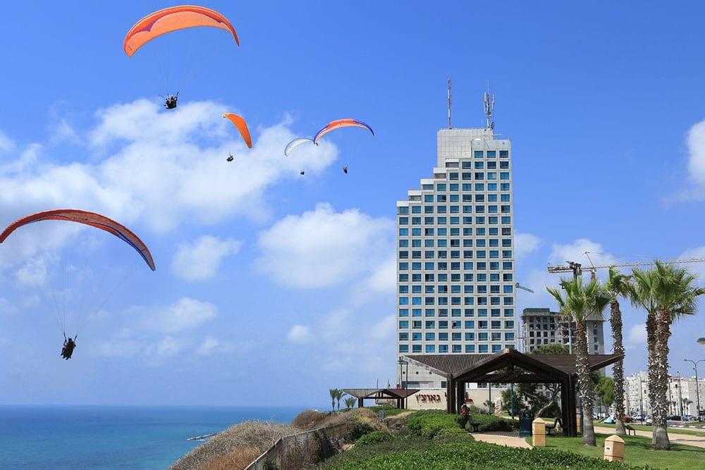 paragliding Netanya